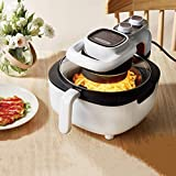 Freidora de aire para la cocina Casa Multifuncional Freidora eléctrica visible Air Fryer No Stick 5L Frit French Fries Máquina con temporizador de temperatura ajustable, Lecho de aceite LOBLE DSB 1yes