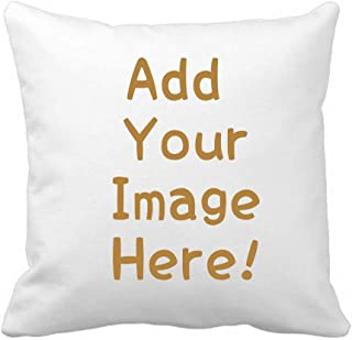 GreenDIY Custom Design Photos Personalized Photo Pillowcase or Text Outdoor/Indoor Throw Pillowcase, Christmas Pillowcase, Love Photo Throw Pillow, Wedding/Birthday Keepsake