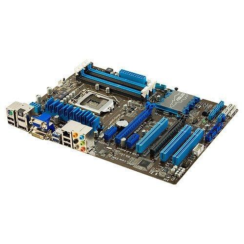 ASUSTeK Intel H77搭載 マザーボード LGA1155対応 P8H77-V 【ATX】