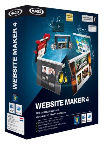 Magix Website Maker 4 - Editores HTML (512 MB, Intel Pentium II / AMD Athlon 450MHz, 50 MB, Holandés)