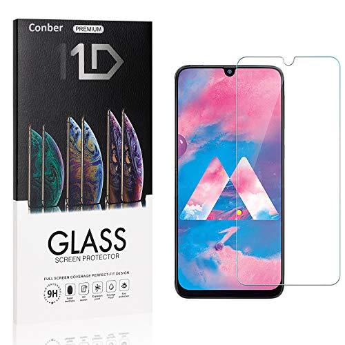 [4 Stück] Conber Panzerglas Schutzfolie für Samsung Galaxy A20S, [9H Härte][Anti-Kratzen][Anti-Öl][Anti-Bläschen] Panzerglasfolie Displayschutz für Samsung Galaxy A20S