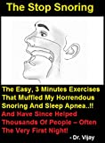 The Stop Snoring Exercise Program -3 Minutes Exercises That Muffled My Horrendous Snoring