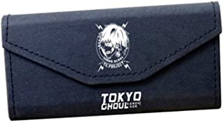 XSWY Tokyo Ghouls Around The Glasses Box Tokyo Ghouls Anime Pencil Bag Retro Glasses case (Color : Black)