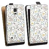 DeinDesign Étui Compatible avec Samsung Galaxy Note 4 Étui à Rabat Étui magnétique Produit sous...