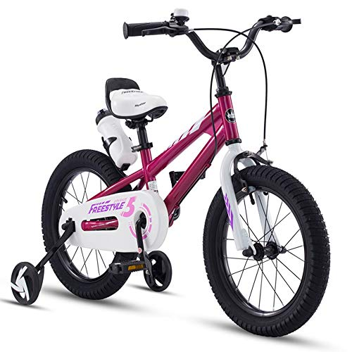 Best Prices! HWZQHJY Freestyle Kid's Bike for Boys and Girls (Color : A, Size : 18)