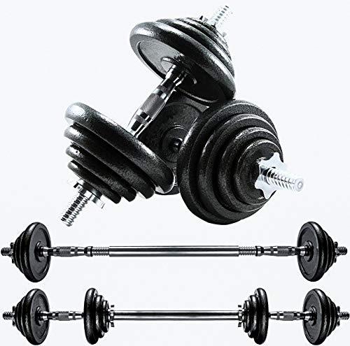 CANMALCHI Juego de pesas ajustables de 20 kg