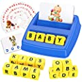 Tesoky Educational Toys for 3-8 Year Old Boys Girls - Sight Words Game Matching Letter Game Birthday Gifts for Boys Girls Age 3-8 Blue by Tesoky