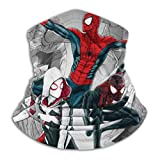 Seamless Face Mask Bandanas,SPI-derman Into The Verse Half Face Mask Multi Scarf for Dust, Outdoors