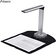 Aibecy BK30 Document Camera 5 Mega-Pixel High Definition Portable Scanner Capture Size A4 Scanners for File Card Passport Recognition Support 7 Languages