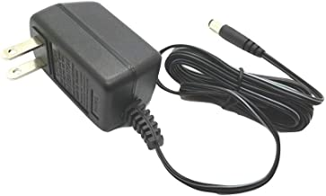 9V AC/DC 200ma Center Negative Power Adapter with 2.1mm x 5.5mm Barrel Connector for Keyboads and Guitar Multi Effect Pedals, UL Listed