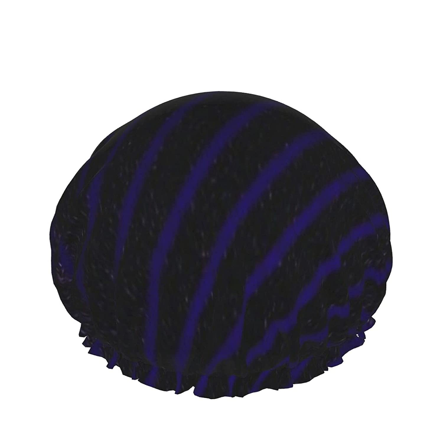 Double Layers Shower Cap Free Shipping Cheap Bargain Soldering Gift Luxury B Purple Pattern Violet Abstract