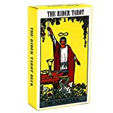 22 Major Arcana & 56 Lesser Arcana. It is a way of presenting Tarot thoughts,and one of the tools to use Tarot thoughts to consult and forecast The patterns on the card is vivid and well printed with bright color. Portable and easy for taking away. D...