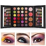 FONDBEAUTI Eyeshadow Palette Matte - 28 Highly Pigmented Makeup Eye Shadow Colors - Professional Vegan Nudes Warm Natural Bronze Neutral Smoky Shades