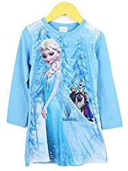 Anna and Elsa Nightgown Apparel for Toddler