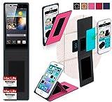 Hülle für Huawei Ascend P6 S Tasche Cover Hülle Bumper   Pink   Testsieger