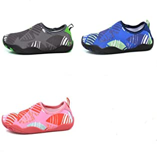 Leoie Unisex Beach Shoes Outdoor Sports Flat Soft Breathable Non-Slip Wading Shoes Couple Size Swimming Water Shoes