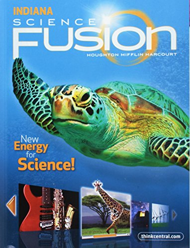 Houghton Mifflin Harcourt Science Fusion: Student Edition Interactive Worktext Grade 2 2012