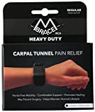 M BRACE RCA Carpal Tunnel Wrist Pain Relief (Regular, Black)