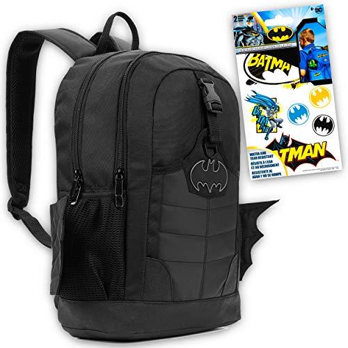 Batman Backpack for Adults Teens Kids Bundle