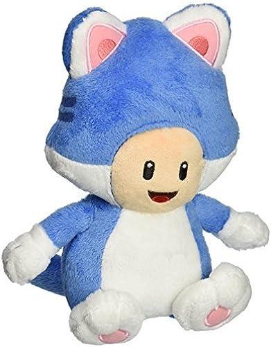 Little Buddy USA Super Mario  7  Neko Cat Toad Plush by Little Buddy