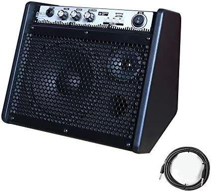 Coolmusic DM20 20W Bluetooth Personal Monitor Amplifier Electric Drum Amplifier Speaker Keyboard product image
