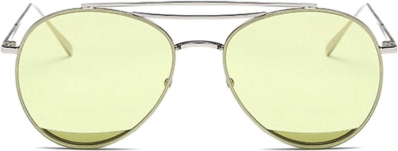 HeiPlaine Driving Glasses New, Metal, Male And Female, Universal, Sunglasses, bluee, Sea, Same Paragraph, Sun, Glasses, Wild, Trend, color, Sunglasses' Predection Sunglasses