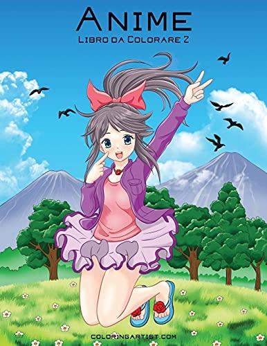 Anime Libro da Colorare 2