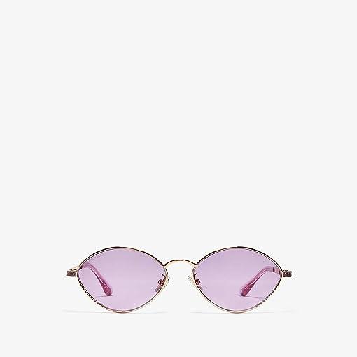 Gold Violet/Violet Mirror