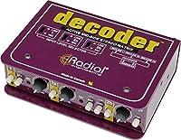 Radial ラジアル M/S方式デコーダー Decoder 【国内正規輸入品】