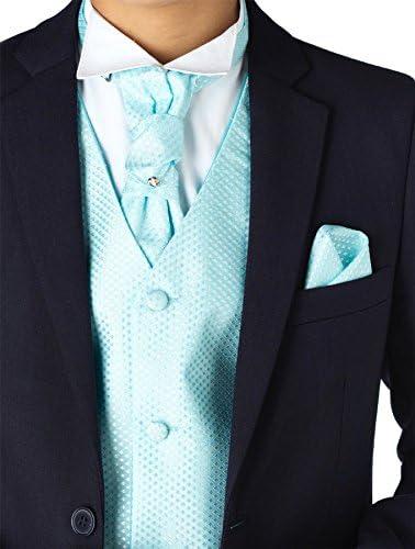 Paisley of London, Muchachos Azul Marino trajes, trajes de los niños Slim Fit, página chico trajes, niños boda trajes, 12 – 18 meses – 13 años