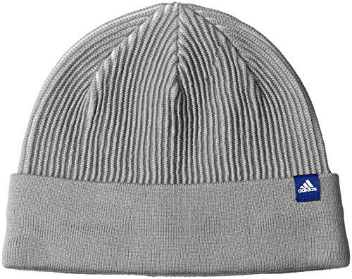 adidas Clima Heat ID Rib Wo hat, Unisex, DJ1213, Medium Grey Heather/White/Mystery Ink, OSFC
