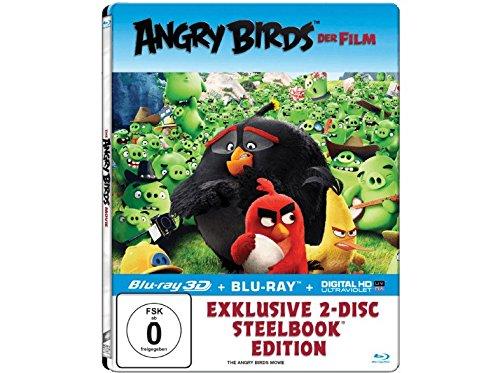 Angry Birds - Der Film (Exklusives Steelbook mit 3D-Lentikularkarte - 3D+2D Blu-ray) - (Blu-ray)