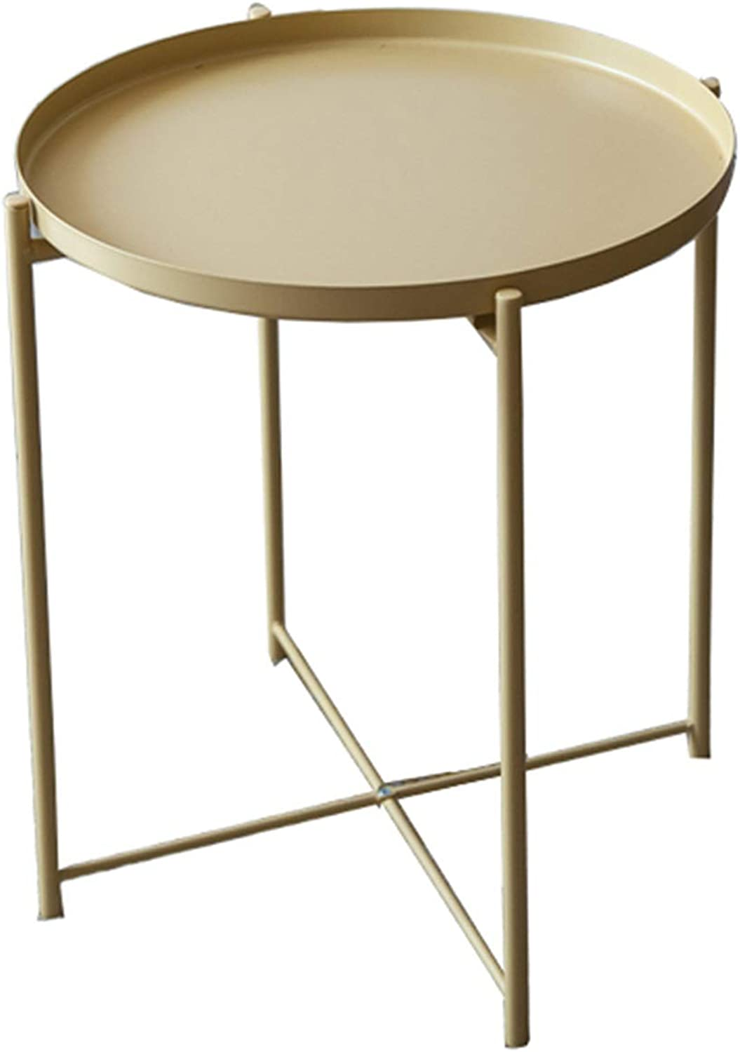 Wrought Iron Side Table Coffee Table, Simple Modern Living ...
