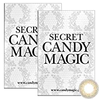 Secret Candymagic monthly シークレット キャンディー マジック マンスリー 【カラー】ライトブラウン 【PWR】-4.00 1枚入 2箱