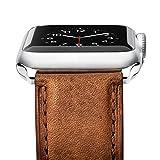 Benuo für Apple Watch 38mm 42mm Armband Serie 3, Benuo Apple iWatch, Klassische Lederarmband, Mit...