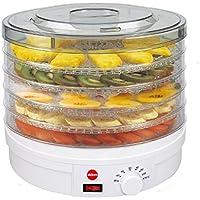 Deshidratador De Setas, Verduras Y Frutas SG200N Crusty ELDOM, 5 Bandejas Con Diametro   32 Centimetros, Potencia 245 Watios