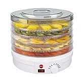 Deshidratador De Setas, Verduras, Frutas SG200N Crusty ELDOM, 5 Bandejas Con Diametro 32...