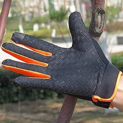 eamqrkt 1 Paire V/élo Bicyclette Gants Integral /Écran Tactile Hommes Femmes VTT Gants Respirable /Ét/é Mitaines