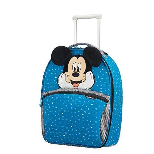 SAMSONITE Disney Ultimate 2.0 - Upright 49/17 2 KG Valigia per bambini, 49 cm, 24 liters, Multicolore (Mickey Letters)