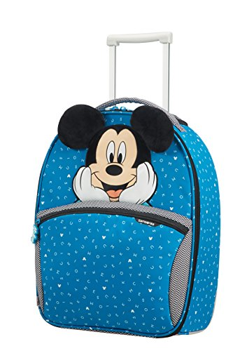 Samsonite Disney Ultimate 2.0 - Upright S Kindergepäck, 49 cm, 24 L, blau (Mickey Letters)