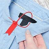 KIKYO Etiquetas de Bridas para Cables, fáciles de Usar y almacenar, y duraderas, adecuadas para Todo Tipo de Industrias(Red)