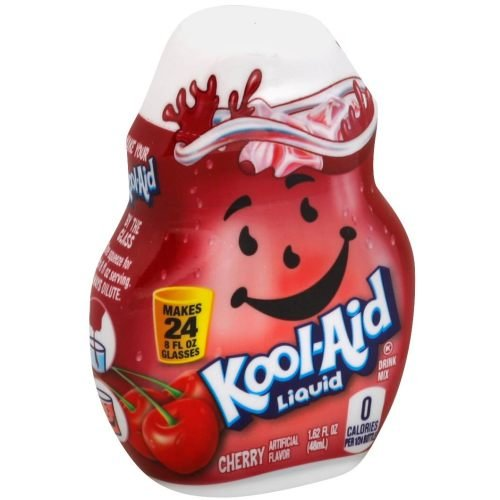 Kool Aid Cherry Liquid Drink Mix, 1.62 Fluid Ounce -- 12 per case.