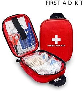 Voiture Maison First Aid Kit d/'Urgent Randonn/ée Chasse Trousse de Premiers Soins Procase Grande Trousse Secours 1er Sac Rouge Kit Complet de Survie Camping Sports Voyage V/élo