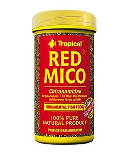 TROPICAL Red Mico Nourriture pour Aquariophilie 100 ML Lot de 3