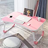 Vijay E Saleses Foldable Bed Study Table Portable Laptop Table Lapdesk for Children