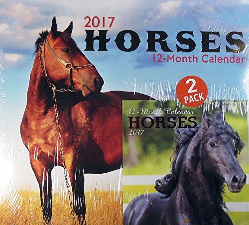 Horses 2017 Wall Calendar and Mini Calendar