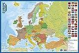 Erik - Planche Éducative | Affiche semi-rigide 40 x 59 cm | Carte du Monde