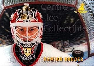 (CI) Damian Rhodes Hockey Card 1996-97 McDonalds Pinnacle 39 Damian Rhodes