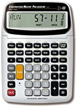 $53 » Calculated Industries 44080 Construction Master Pro Construction Calculator (Renewed)