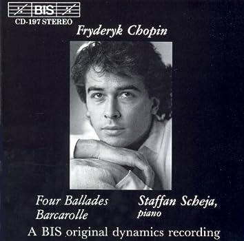 Chopin: Complete Ballades / Barcarolle in F-Sharp Major